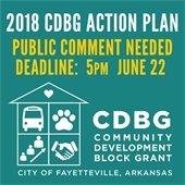 CDBG 2018 Action Plan - Public Feedback
