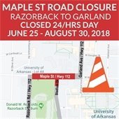 Maple Street Closure