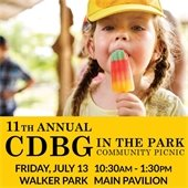 CDBG in the Park 2018