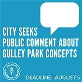 Gulley Park Public Comment