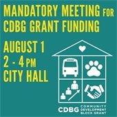 CDBG annual meeting