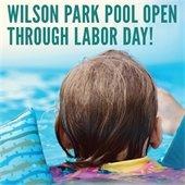 Pool Open Through Labor Day