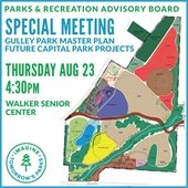 Parks and Recreation Advisory Board Special Meeting