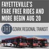 Fare Free in Fayetteville