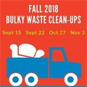 Bulky Waste Fall 2018