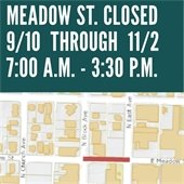 Meadow Street CLosed