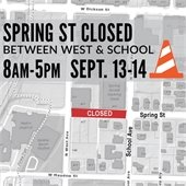 Spring Street Closed