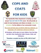 Cops and Coats for Kids