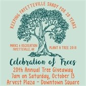 Celebration of Trees Twentieth Annual Tree Giveaway