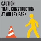 Trail Construction at Gulley Park