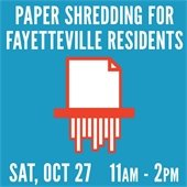 Paper Shredding October 27