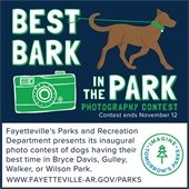 Best Bark in the Park Photo Contest.