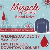 Donate Blood on Wednesday, December 19