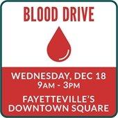 Blood Drive December 18