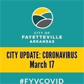 City Coronavirus Update: March 17