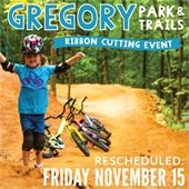 Gregory Park Ribbon Cutting Rescheduled