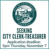 Seeking City Clerk-Treasurer