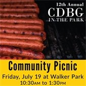 CDBG in the Park Community Picnic