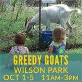 Greedy Goard at Wilson Park Oct 1-5