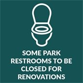 Some park restrooms to be closed for renovations