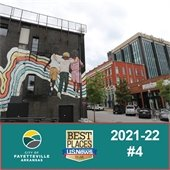 Fayettteville named #4 in 2021-22 Best Places to Live, U.S. News & World Report