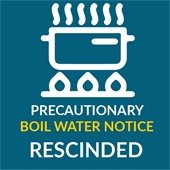 Precautionary Boil Water Notice Rescinded