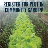 Register For Plot in Community Garden