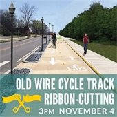 Old Wire Road Cycle Track Ribbon-Cutting
