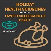 Holiday Health Guidelines from the Fayetteville Board of Health