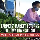 Farmers' Market Returns to Downtown Square