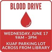 Blood Drive June 17