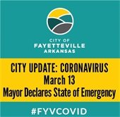City Update: Coronavirus March 13: Mayor Declares State of Emergency