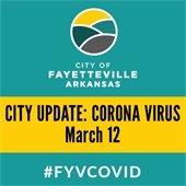 City Update: Corona Virus March 12