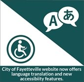 City of Fayetteville website now offers language translation and new accessibility features