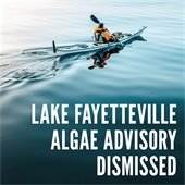 Low Levels of Microcystin at Lake Fayetteville, Advisory Dismissed