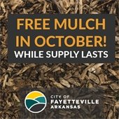 Free Mulch in October While Supplies Last