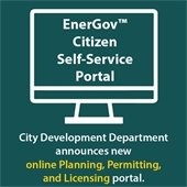 City Development Department announces new online Planning, Permitting, and Licensing Portal