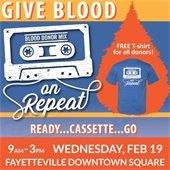 Blood Drive Feb 19