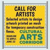 Call for Artists Cultural Arts Corridor Fence
