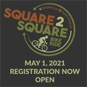 Square to Square Bike Ride May 1: Registration open now