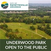 Underwood Park open to the public