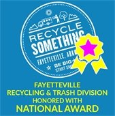 Fayetteville Recycling & Trash Division honored with National award
