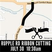 Rupple Road Ribbon Cutting