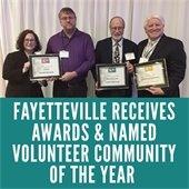 Fayetteville Receives Awards