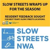 Slow Streets Wraps Up for the Season: Resident Feedback sought