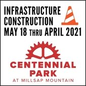 Infrastructure Construction to Begin at Centennial Park at Milsap Mountain