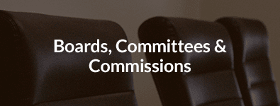 Boards, Committees, & Commissions