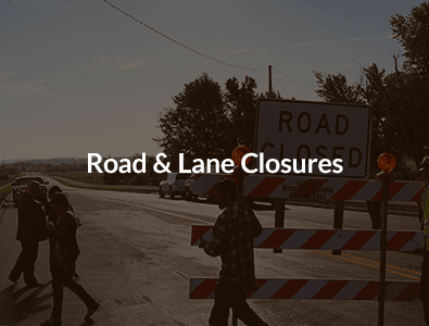 Road & Lane Closures