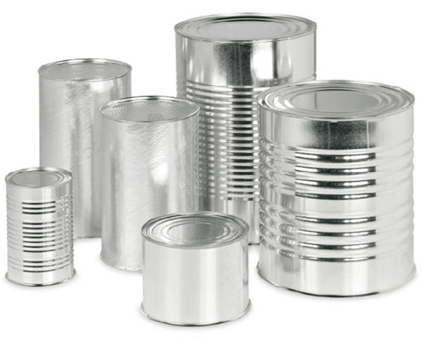 steel cans