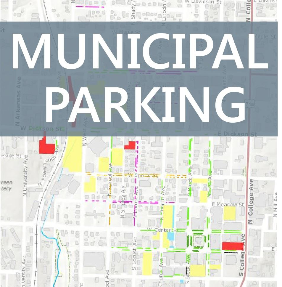 Muncipal Parking Map